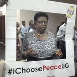 "Miria Matembe is already part of the #IChoosePeaceUG campaign.. ""that is the spirit my children, Ugandan spirit"" https://t.co/S4BBWGpCQK"