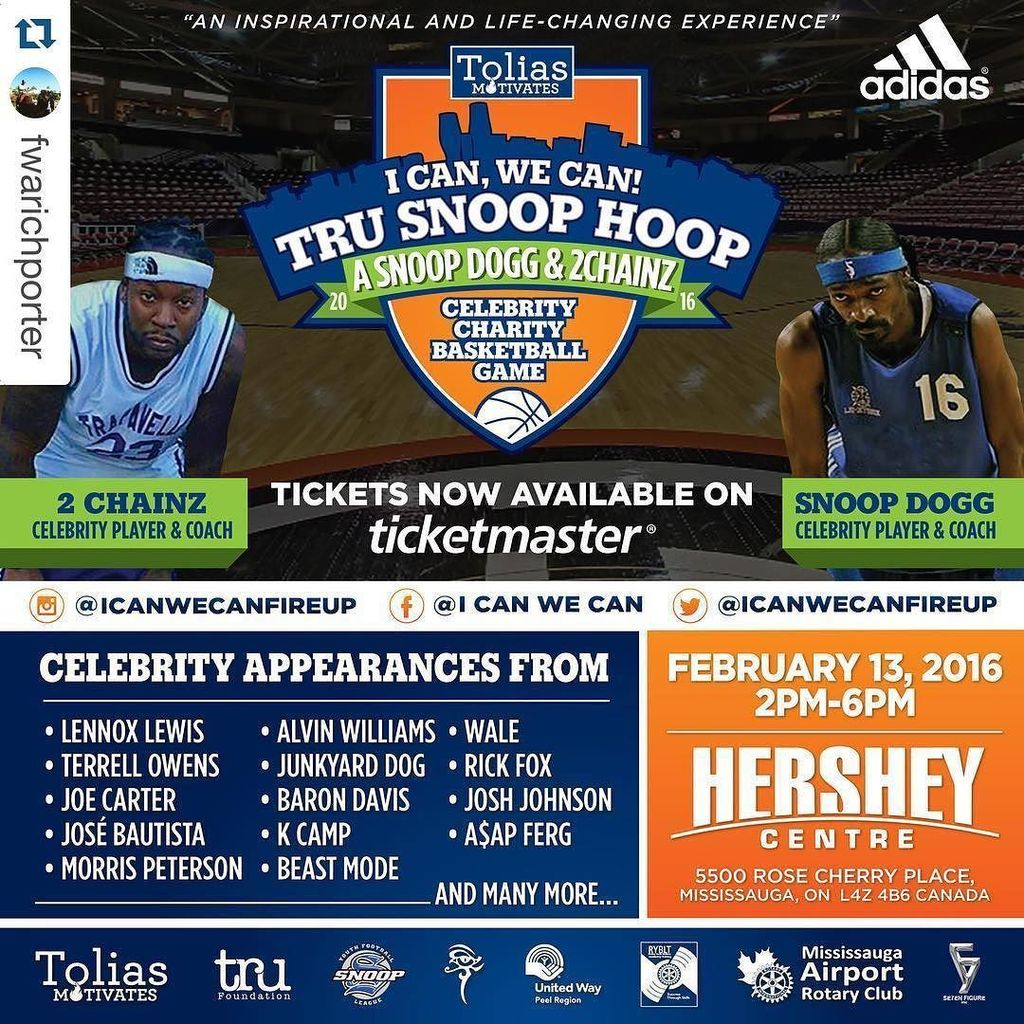 #Repost @fwarichporter with @repostapp. ・・・ THIS SATURDAY 2-6pm @hersheycentre #trusnoophoop @snoopdogg WEST Coache… https://t.co/zMS41DSA3q