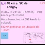 #sismo M6.4, 48 km al SO de Tongoy, Hace 6 minutos. https://t.co/IMMDqDucx3
