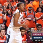 No. 7 Virginia leads @VT_MBBall 32-20 at halftime. Hoos have 15 pts off 10 VT turnovers. #VTvsUVA https://t.co/vss4N8tWy7
