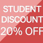All students! From 10-14 Feb get 20% off your entire purchase! So start shopping at your nearest H&M store now! https://t.co/CizrElmviQ