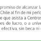 Bachelet el 21 de mayo: 60% gratuidad incluido los CFT-IP, 264 mil beneficiados. Ambas cosas falsas. #ParaDocumental https://t.co/jKTS1OdtdR