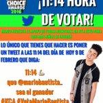 11:14 (Hora CDMX) de hoy 9 de febrero ÚNETE!!! Que el apoyo a @mariobautista_ se vea ???? RT ???? #KCA #VotaMarioBautista https://t.co/1z68nWdjFo