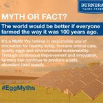 Today in Canada, less than 2% of the population farms compared to 1 in 3 people 100 years ago #EggMyths https://t.co/cCqXN9zJO3