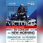 #VictorO en #Concert #Dim14Fev @newmorningparis #NewMorning #Paris #SaintValentin @aztecmusique @RebeccaMarival https://t.co/iEgFGRUTcO