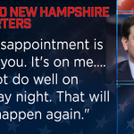 """Marco Rubio tells supporters that his finish tonight in New Hampshire is a """"disappointment"""" https://t.co/LWSQvf1tGh https://t.co/dRqPNsBHtG"""