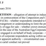 EGG CASE: Federal Court rules ACCC failed to prove its claims of a cartel to inflate prices. @theTiser https://t.co/TB7oWceI7I