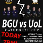 TONIGHT! THE #CATHEDRALCUP TAKES OFF! Sincil Bank Stadium - Tickets £3 on the gate, bar open 6pm https://t.co/WE2QjELW2t