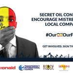 Remember... #OurOilOurFuture w/ @ActionAidUganda @oilinug @TransparencyUga. https://t.co/yX6XMygOFM
