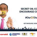 Closed Oil contracts encourage Corruption. Why does Govt pretend to fight what they fuel? #OurOilOurFuture https://t.co/WoUSctzKOG