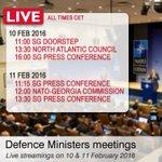 #NATO #DefMin meeting starts today. Crucial for #NATOSummit #Warsaw. Updates: @NATO, @NATOpress, @PLinNATO. https://t.co/bATEp97wig