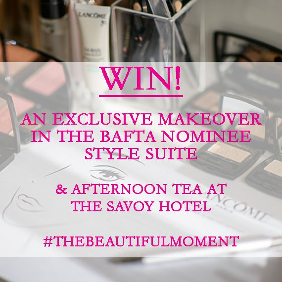 WIN a BAFTA Makeover & Tea at The Savoy! Tell us #TheBeautifulMoment from your favourite film to enter -T&C's in bio https://t.co/jYyC5IL9pT
