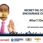 #OurOilOurFuture splashing around money during campaigns. Is that where the oil money ends up? https://t.co/GrnNQbaIaw