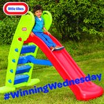 Its #WinningWednesday! FOLLOW and RT for your chance to #WIN an Easy Store Giant Slide. GOOD LUCK! https://t.co/CBQWemUOm8