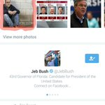 How long can this Onion picture of Jeb stay at the top of Twitter search? I hope forever. https://t.co/c5v3aT1Yu5
