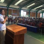 """Marcos Jr. now in Bangued, Abra campaigning alone for a """"Solid North"""" votes for Santiago-Marcos tandem https://t.co/OyM5qxFpjy 