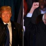 Trump y Sanders ganan primarias en Nueva Hampshire https://t.co/hMvQzBkqX5 #NHPrimary https://t.co/Pg27gYrFEc