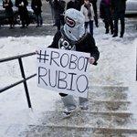"""Robots"" tail Marco Rubio on campaign trail https://t.co/O2rKCDhTpR https://t.co/1ovS9Jozye"
