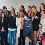 La presidenta @susanadiaz felicita al Club #Baloncesto @CBConquero de #Huelva tras ganar la Copa de la Reina https://t.co/kjQSP8PvZm