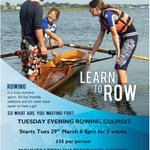 #ROWING Learn to row #Plymouth with @BritishRowing coach starts Tues March 29, 1800-2000 @activedevon @sportplymouth https://t.co/A9GHR1JfEQ