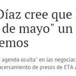 Fernández Díaz (PP) ante la corrupción del PP, habla de ETA. Todavía no se ha enterado que el @PSOE acabó con ETA. https://t.co/BzLqXdd5Zx
