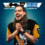 We'll give away the tickets to hang with @AndrewWK at tonights Pens game in about six minutes on the X! https://t.co/n1BoWjE2bB
