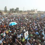 Some of the shots coming from Katwe main rally as @kizzabesigye1 rallies Makindye. #WesigeBesigye as #UgandaDecides https://t.co/MpDLVXm8OB