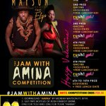 13. #JamWithAmina this Valentine Cc @moriahmayson @efya_nokturnal and @yah_gh https://t.co/FPBcWzAFxT