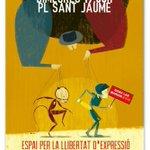 Avui convocatòria ciutadana per la llibertat dexpressió a St Jaume, tot el suport #LibertadTitiriteros https://t.co/i2DAp1FyAL