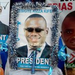 Uganda- throughout campaign season think @kizzabesigye1 fans have been the most creative #UgandaDecides https://t.co/HDxTpfXCjK
