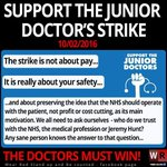 #juniordoctors are striking for us all – to save the #NHS & to make a stand #juniordoctors https://t.co/WJHwEFeAf2 https://t.co/nkcg8c4y9f