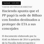 Dice Fernández Díaz no sé qué de la ETA y que la sede del PP en Bilbao necesita una reformita. https://t.co/CvO8qhHgJT