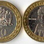 Las monedas como los 100 pesos chilenos que causan estragos en España. FOTOS » https://t.co/v2xrPCbZB1 https://t.co/1tj3TiT5xW