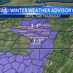 """***WINTER WEATHER ADVISORY*** ADDITIONAL SNOW TODAY & TONIGHT: 1-3"""" in Pittsburgh. 3-5"""" north of Pittsburgh. https://t.co/cTKOvuUgYl"""