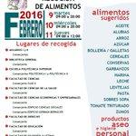 Recogida Solidaria de Alimentos en la @UA_Universidad ¡Mañana último día! https://t.co/iyBYxZZw3a https://t.co/72NqXWWhCA