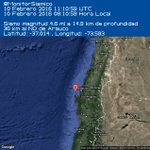 #Sismo M 4.6 36 km al NO de Arauco. 10-02-2016 11:10 UTC https://t.co/waaEnbW27K #Temblor #CSN #Chile https://t.co/wtvyuvPOkE