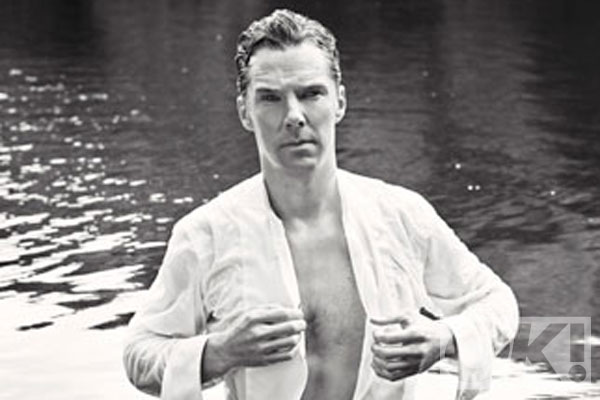 WOW. Benedict Cumberbatch releases his inner Mr Darcy - and it's for a GREAT reason: