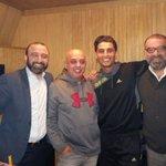 الفنان محمد عساف مع رواد رعد ، طوني سابا، والدكتورسعيد حديفة في الاستوديو  @MohammedAssaf89 https://t.co/dS96XP84TZ