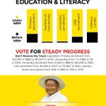Check out our strides in the Education Sector #VoteSevo #VoteNRM for #SteadyProgress #UgandaDecides https://t.co/6HdO75iMuN