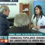 AHORA | Hablamos con el alcalde @danieljadue… Acusa DISCRIMINACIÓN de los LABORATORIOS a FARMACIAS COMUNALES https://t.co/XXXopo13R8