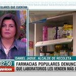 """.@danieljadue: """"A la farmacia popular de Recoleta le va muy bien (…) Tenemos más de 2.500 inscritos"""" #Bienvenidos13 https://t.co/KBHOCHIani"""
