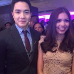 Our Prince&Princess arrived together at the GMA Thanksgiving Party 2016 at Shangri-La Makati #VoteMaineFPP #KCA -k https://t.co/5nfBpdUWVN
