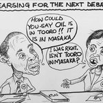 Cartoon of the week: Engineer meets Social Worker #Uganda #UGDebate16 https://t.co/77OHKH05ly