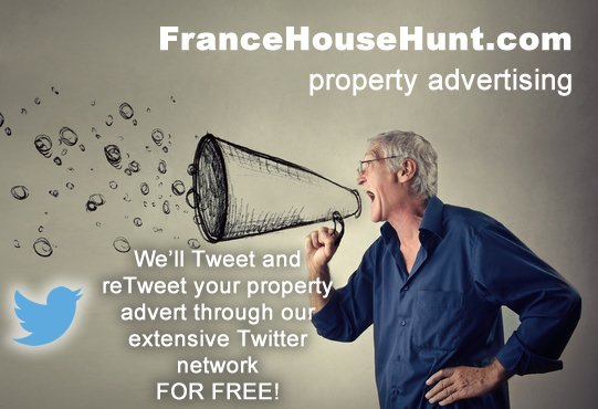 Get your house tweeted to 47000+ followers when you advertise it on FranceHouseHunt for €5 https://t.co/h64TYIzQPW https://t.co/XKeNor6DTX