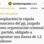El ministro de Interior, Fernández Díaz, habla de ETA, q ya no existe, pero no quiere hablar de esto...#CorruPPción https://t.co/kxEelD5YUn