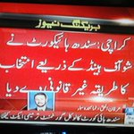 Congratulations Sindh Local Governments. Shame on PPP for the deliberate attempt to delay voting. https://t.co/U6zlJsagS6