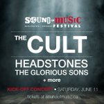 122Days till @officialcult @theheadstones @TheGloriousSons grace #SOM2016 Grab your tix https://t.co/41OSCT4LsX Paul https://t.co/SI1hE2vEkM