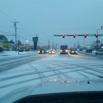 Road condition, Murfreesboro @ Royal Oaks. Use caution this morning! https://t.co/Dgx1iG8TCx