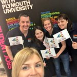 Thanks to @PlymUni @PlymUniJobs Radio Plymouths Jemma having a great time #PartTimeJobsFair Fab hosts! #PlymUni https://t.co/lzvZUOuwzS