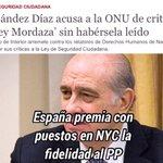 Sr. Fernández Díaz una costumbre muy #PP es enviar palurdos obsecuentes a USA?. La DDHH de la ONU son juristas TOP???? https://t.co/XMKfKcGwWp